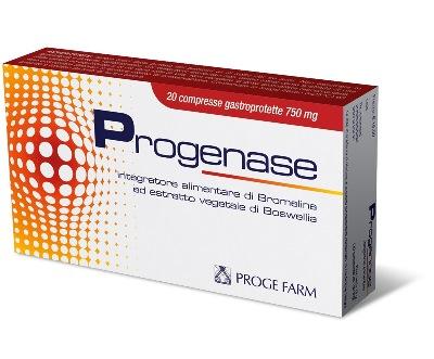PROGENASE 20 COMPRESSE - Nowfarma.it