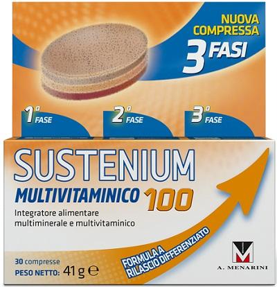 SUSTENIUM MULTIVITAMINICO 100 % - Biofarmasalute.it