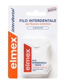 ELMEX FILO INTERDENTALE CERATO 50 METRI - Farmafamily.it