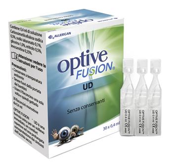 OPTIVE FUSION UD SOLUZIONE OFTALMICA STERILE 30 FLACONCINI MONODOSE 0,4 ML - Farmaci.me