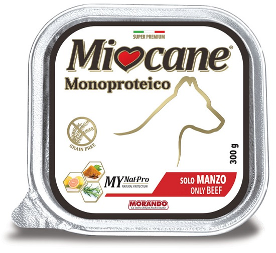 MIOCANE MONOPROTEICO MANZO 300 G - Farmacia Giotti