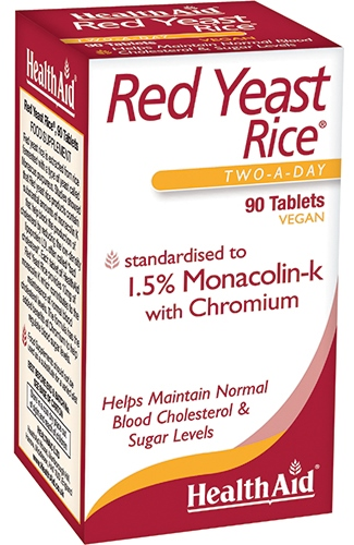 RED YEAST RICE RISO ROSSO 90 COMPRESSE - Farmaseller