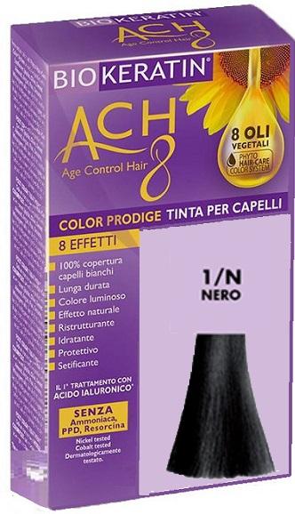 BIOKERATIN ACH8 COLOR PRODIGE 1/N NERO - Farmaciacarpediem.it
