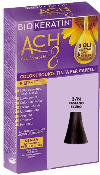 BIOKERATIN ACH8 COLOR PRODIGE 3/N CASTANO SCURO - Farmaciacarpediem.it