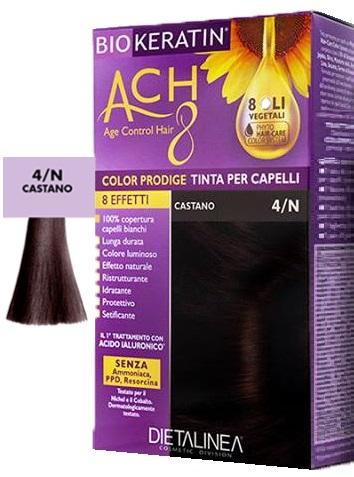 BIOKERATIN ACH8 COLOR PRODIGE 4/N CASTANO - Farmaciacarpediem.it