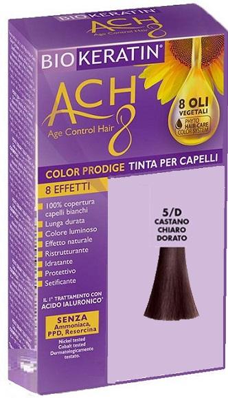 BIOKERATIN ACH8 COLOR PRODIGE 5/D CASTANO CHIARO DORATO - Farmaciacarpediem.it