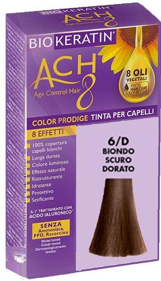 BIOKERATIN ACH8 COLOR PRODIGE 6/D BIONDO SCURO DORATO - Farmaciacarpediem.it