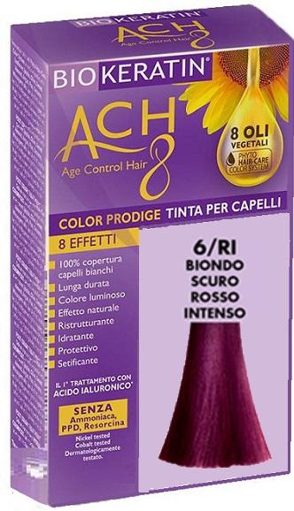BIOKERATIN ACH8 COLOR PRODIGE 6/RI BIONDO SCURO ROSSO INTENSO - Farmaciacarpediem.it