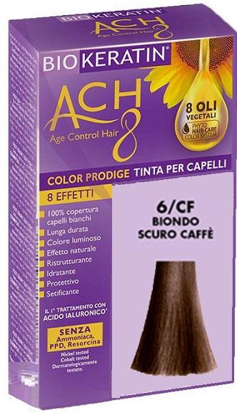 BIOKERATIN ACH8 COLOR PRODIGE 6/CF BIONDO SCURO CAFFE' - Farmaciacarpediem.it