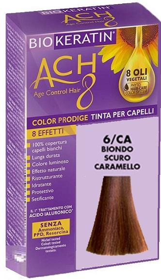 BIOKERATIN ACH8 COLOR PRODIGE 6/CA BIONDO SCURO CARAMELLO - Farmaciacarpediem.it