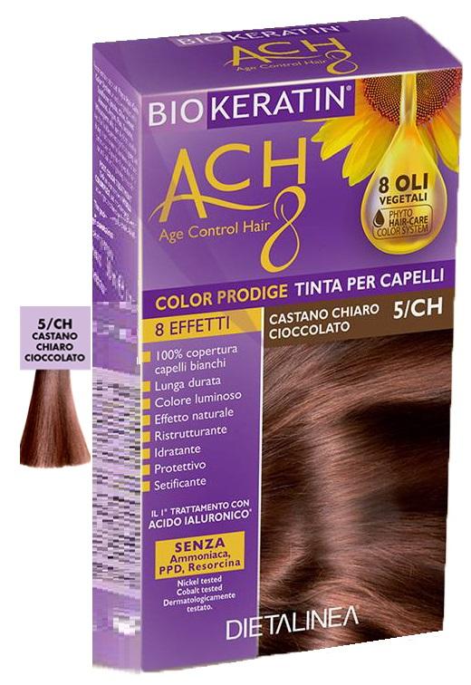 BIOKERATIN ACH8 COLOR PRODIGE 5/CH CASTANO CHIARO CIOCCOLATO