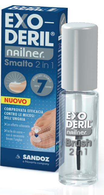 EXODERIL NAILNER SMALTO 2 IN 1 - Sempredisponibile.it