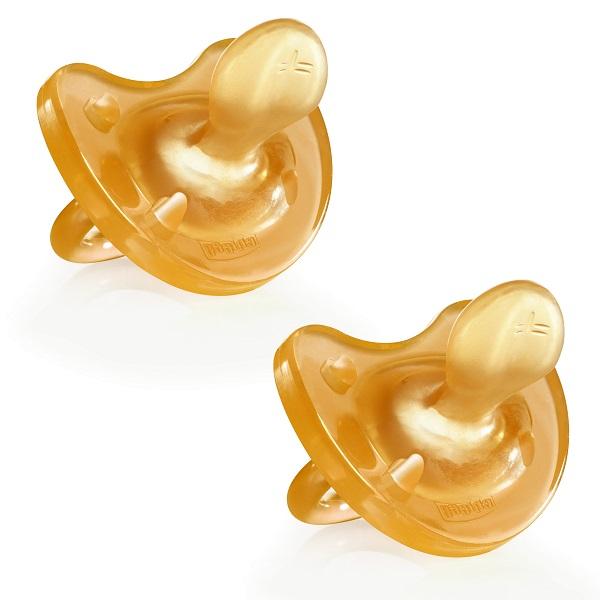 CHICCO GOMMOTTO IN CAUCCIU' 0-6 MESI 2 PEZZI - farmaventura.it