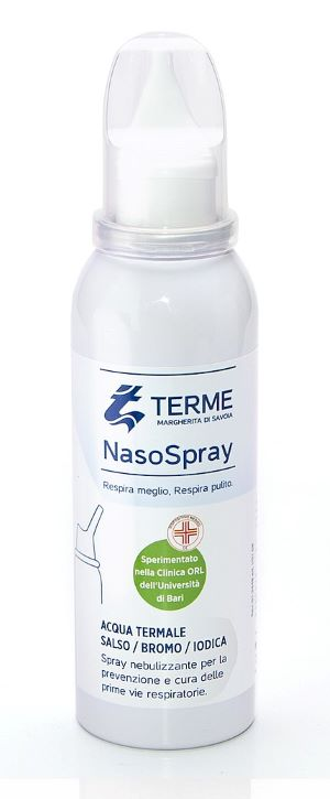 NASOSPRAY TERME DI MERGHERITA DI SAVOIA FLACONE 100 ML - FARMAPRIME