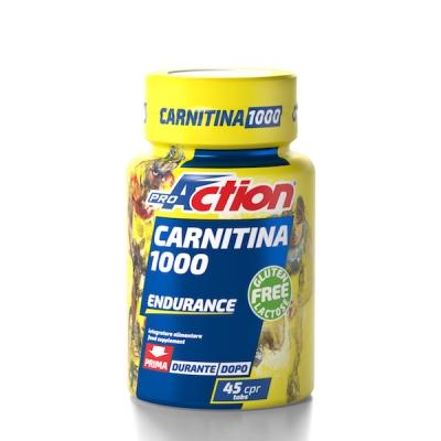 PROACTION CARNITINA 1000 45 COMPRESSE - Farmia.it
