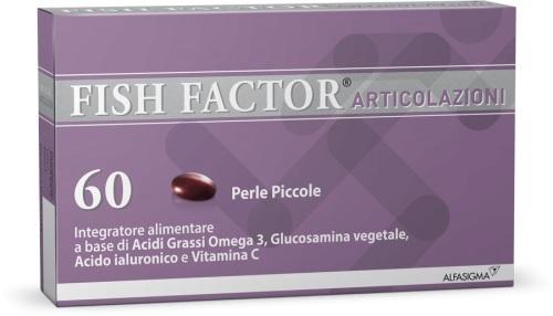 FISH FACTOR ARTICOLAZIONI 60 PERLE - Farmacia Massaro