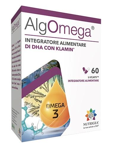 ALGOMEGA INTEGRATORE ALGA KLAMATH 60 CAPSULE - Farmastar.it