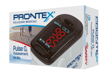PRONTEX PULSE O2 MINISATURIMETRO DA DITO - FARMACIABORRELLI.IT