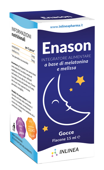 ENASON MELISSA MELATONINA 15 ML - Farmaunclick.it