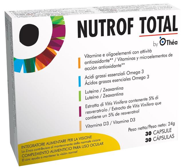NUTROF TOTAL 30 CAPSULE - Parafarmacia Tranchina