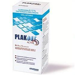 EMOFORM PLAK OUT ACTIVE CLOREXIDINA 0,12% COLLUTORIO 200 ML - farmaciadeglispeziali.it