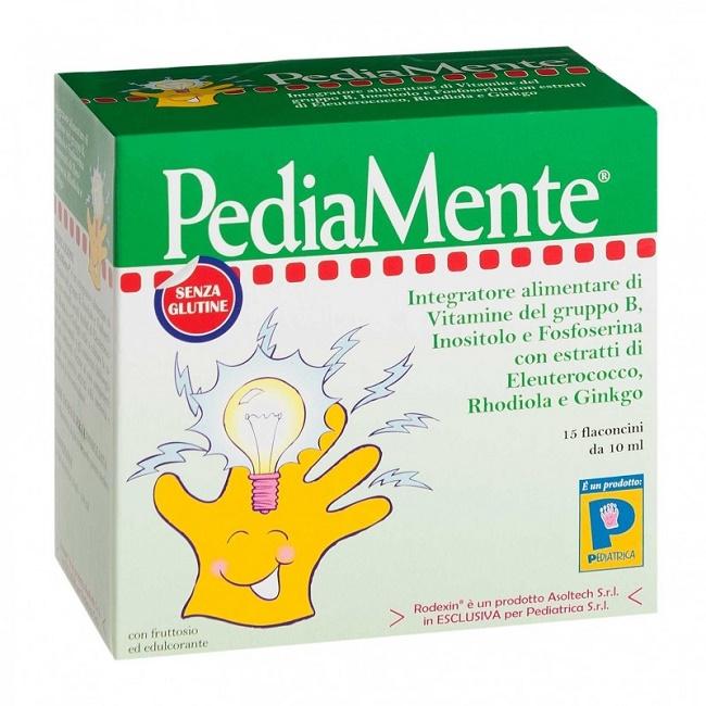 PEDIAMENTE 15 FLACONCINI 10 ML - Farmacia Castel del Monte