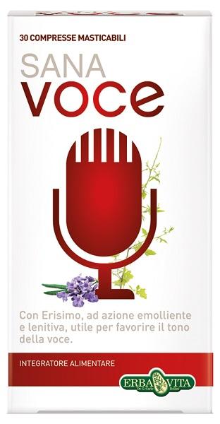Erba Vita Sana Voce Integratore Mucosa Orofaringea 30 Compresse