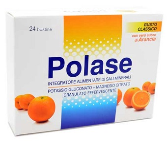 POLASE ARANCIA 24 BUSTINE EFFERVESCENTI - Farmaciacarpediem.it