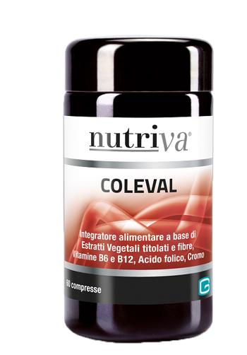 NUTRIVA COLEVAL 60 COMPRESSE - Farmaciacarpediem.it