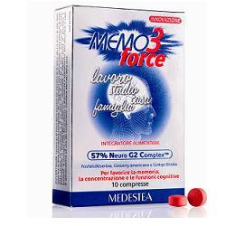 MEMO 3 FORCE 10 COMPRESSE