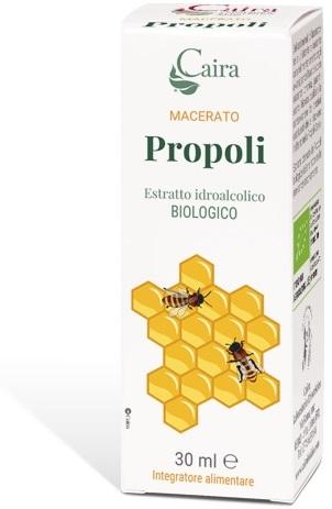 CAIRA PROPOLI MACERATO IDROALCOLICO BIO GOCCE 30 ML - Farmaseller