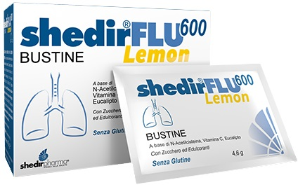 SHEDIRFLU 600 LEMON 20 BUSTINE - Farmafamily.it