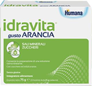 IDRAVITA GUSTO ARANCIA 12 BUSTINE DA 6,25 G - Farmacia Massaro