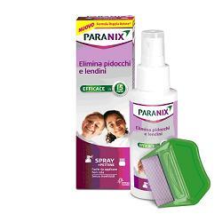 SPRAY PARANIX TRATTAMENTO ANTIPEDICULOSI 100 ML + PETTINE - Farmapage.it