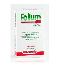 FOLIUM COMPRESSE 400 30 COMPRESSE - Farmacielo