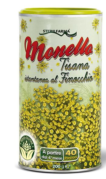 MONELLO TISANA ISTANTANEA FINOCCHIO 200 G - Farmaseller