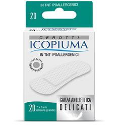 CEROTTO ICOPIUMA IN TESSUTO NON TESSUTO GRANDE 20 PEZZI - farmaciadeglispeziali.it