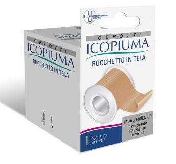 CEROTTO IN ROCCHETTO ICOPIUMA CLASSICO 5X500 CM - La farmacia digitale
