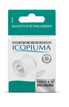 CEROTTO IN ROCCHETTO ICOPIUMA TESSUTO NON TESSUTO CARTA 2,5X500 CM - Farmafamily.it