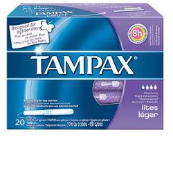 TAMPAX BLUE BOX LITES 20 PEZZI - Turbofarma.it