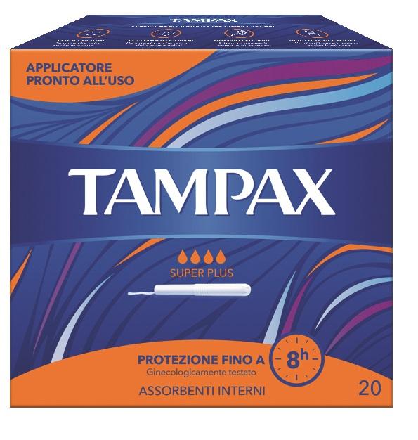 TAMPAX BLUE BOX SUPER PLUS 20 PEZZI - Farmastar.it