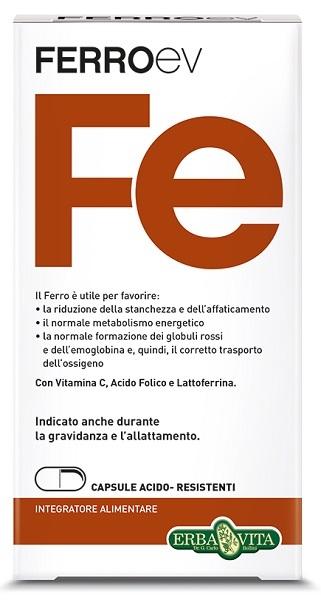 FERRO EV 60 CAPSULE 500 MG - La farmacia digitale