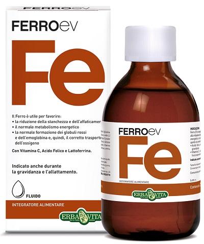 FERRO EV FLUIDO 250 ML - Farmacia Castel del Monte