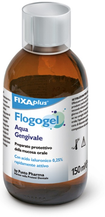 ACQUA GENGIVALE FLOGOGEL 150 ML ARTICOLO FIX205 DM CLASSE IIA - Farmajoy