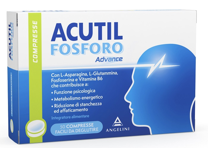 ACUTIL FOSFORO ADVANCE 50 COMPRESSE - La farmacia digitale