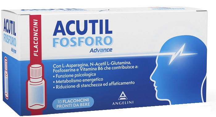 Image of Acutil Fosforo Advance Integratore Alimentare 10 Flaconcini