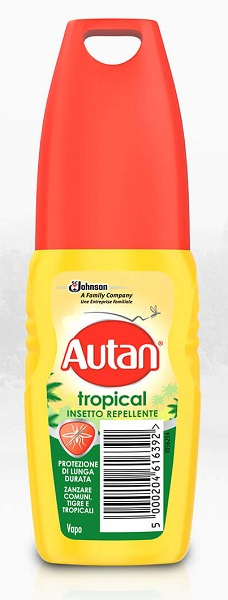 AUTAN TROPICAL VAPO 100 ML - Farmafamily.it