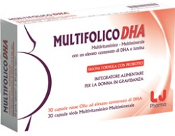 MULTIFOLICO DHA 60 CAPSULE - Farmastar.it