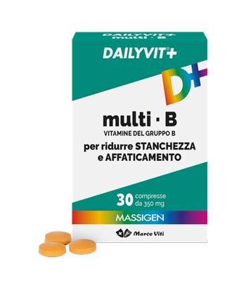 DAILYVIT+ MULTI B VITAMINE DEL GRUPPO B 30 COMPRESSE - latuafarmaciaonline.it