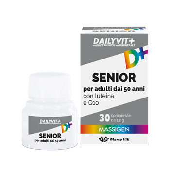 DAILYVIT+ SENIOR MULTIVITAMINICO 30 COMPRESSE SCAD. 05/21 - Nowfarma.it